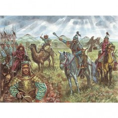 Figurines Cavalerie mongole 13ème siècle