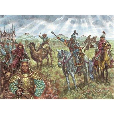 Figurines Cavalerie mongole 13ème siècle - Italeri-6124
