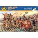 Figurines médiévales: Chevaliers et archers Anglais