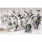 Figurines médiévales: Chevaliers Teutoniques