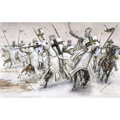 Figurines médiévales: Chevaliers Teutoniques - Italeri-6019