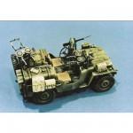 Maquette Commando Car avec figurine