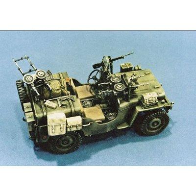Maquette Commando Car avec figurine - Italeri-320