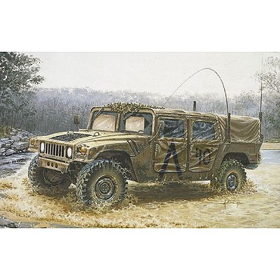 Maquette Hummer M998 Command Vehicle - Italeri-273