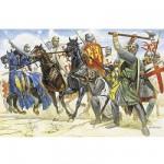 Figurines médiévales: Croisés du XIème siècle