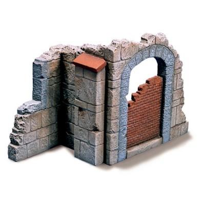 Maquette Ruines de guerre : Portail d'église - Italeri-409