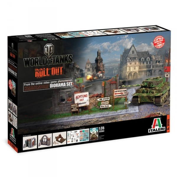 Diorama 1/35 : World of Tanks : Set Himmelsdorf - Italeri-36505