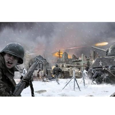 Diorama 1/72 : Bataille de Bastogne - Italeri-6113