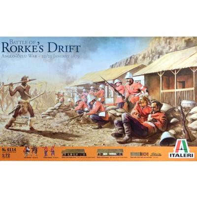 Diorama 1/72 : Bataille de Rorkes Drift - Italeri-6114