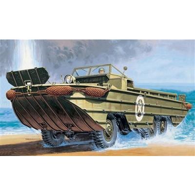 Maquette véhicule amphibie DUKW 1/72 - italeri-7022