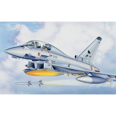 Maquette avion : EF-2000 EuroFighter Twin Seater - Italeri-099