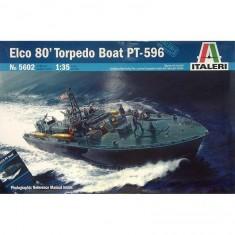 Maquette bateau: Elco 80 Torpedo Boat PT-596
