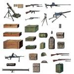 Accessoires militaires: Equipements et armement Alliés WWII