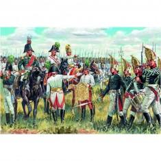 Figurines Guerres napoléoniennes: Etat-major Autrichien/Russe