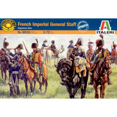 Figurines Guerres napoléoniennes: Etat-major impérial Français - Italeri-6016