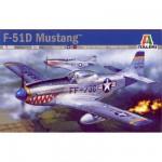 Maquette avion: F-51D Mustang