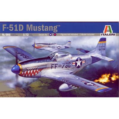 Maquette avion: F-51D Mustang - Italeri-086