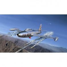 Maquette avion: F-84 G Thunderjet