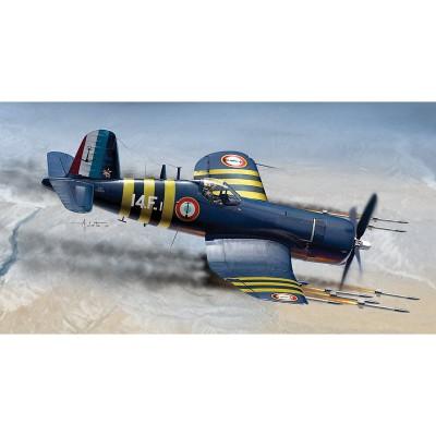 Maquette avion: F4 U-7 Corsair - Italeri-1313