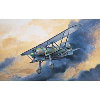 Maquette avion: Fiat CR.42 LW - Italeri-1276