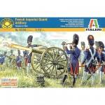 Figurines des Guerres napoléoniennes: Artillerie de la Garde Française