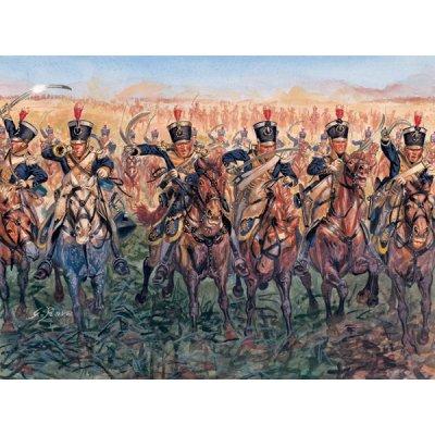 Figurines Guerres napoléoniennes: Cavalerie légère Britannique - Italeri-6885