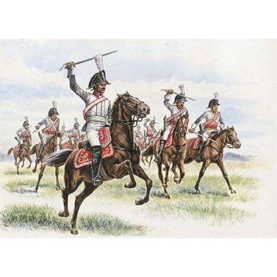 Figurines Guerres napoléoniennes: Cuirassiers Prussiens - Italeri-6007