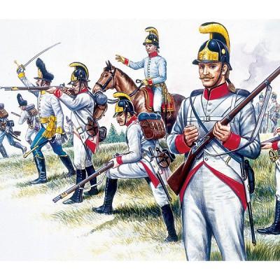 Figurines Guerres napoléoniennes: Infanterie autrichienne - Italeri-6005