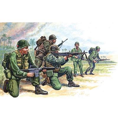 Figurines Guerre du Vietnam : : Forces Spéciales Américaines - Italeri-6078