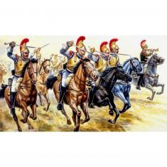 Figurines Guerres napoléoniennes: Cavalerie lourde Française