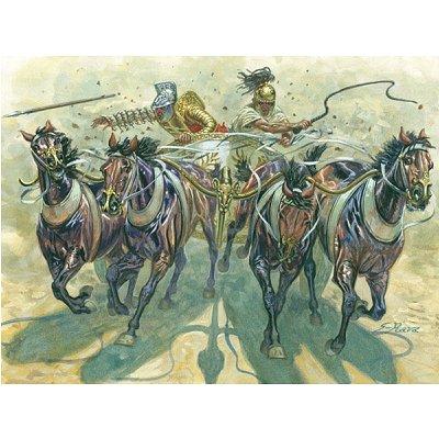 Figurines Gladiateurs et quadriges - Italeri-6874