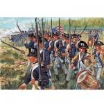 Figurines Guerre d'Indépendance: Infanterie américaine
