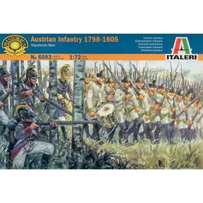Figurines Guerres napoléoniennes: Infanterie Autrichienne 1798-1805 - Italeri-6093