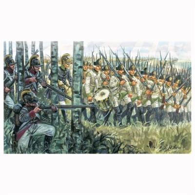 Figurines Guerres napoléoniennes: Infanterie Autrichienne 1798-1805 - Italeri-6884