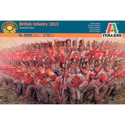 Figurines Guerres napoléoniennes: Infanterie Britannique 1815 - Italeri-6095