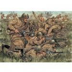 Figurines 2ème Guerre Mondiale : Infanterie Russe