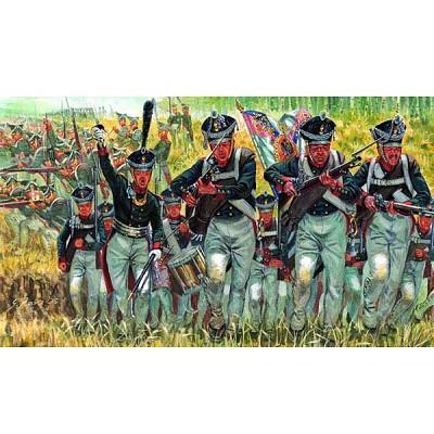 Figurines Guerres napoléoniennes: Infanterie Russe - Italeri-6073