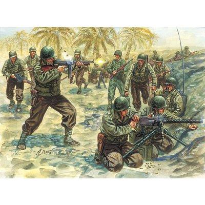 Figurines 2ème Guerre Mondiale : Infanterie US  - Italeri-6120