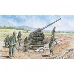 Italian 90/53 Gun with Servants