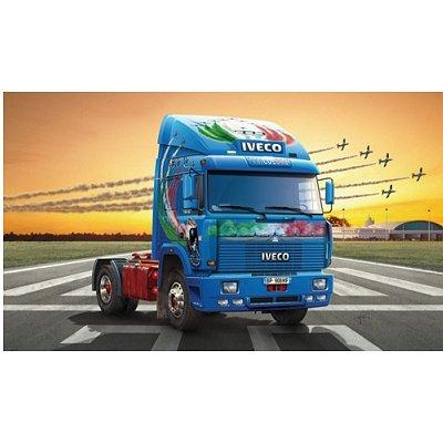 Maquette Camion: Iveco Turbostar Tricolore - Italeri-3862