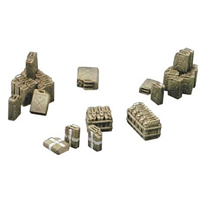 Accessoires militaires: Jerrycans - Italeri-402