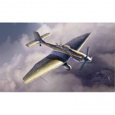 Maquette avion: Junkers Ju87D-5 Stuka