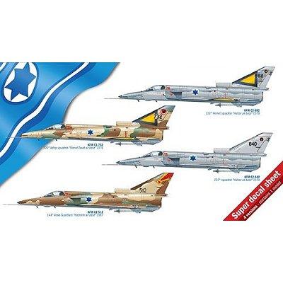 Maquette avion: KFIR C1/C2 - Italeri-2688