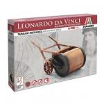 Maquette machine Léonard de Vinci: Tambour mécanique