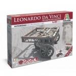 Maquette machine Léonard de Vinci: Chariot auto-propulseur