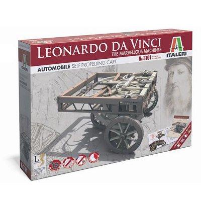 Maquette machine Léonard de Vinci: Chariot auto-propulseur - Italeri-3101