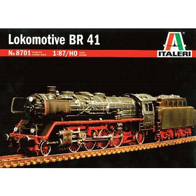 Maquette Locomotive BR41 - Italeri-8701