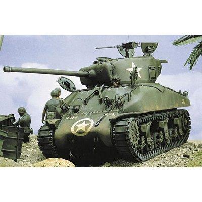 Maquette Char: M4-A1 Sherman - Italeri-225