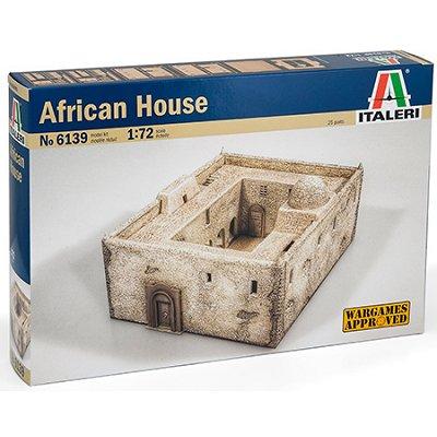 Maquette Maison africaine - Italeri-6139