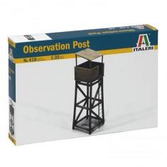 Maquette 1/35 : Poste d'observation